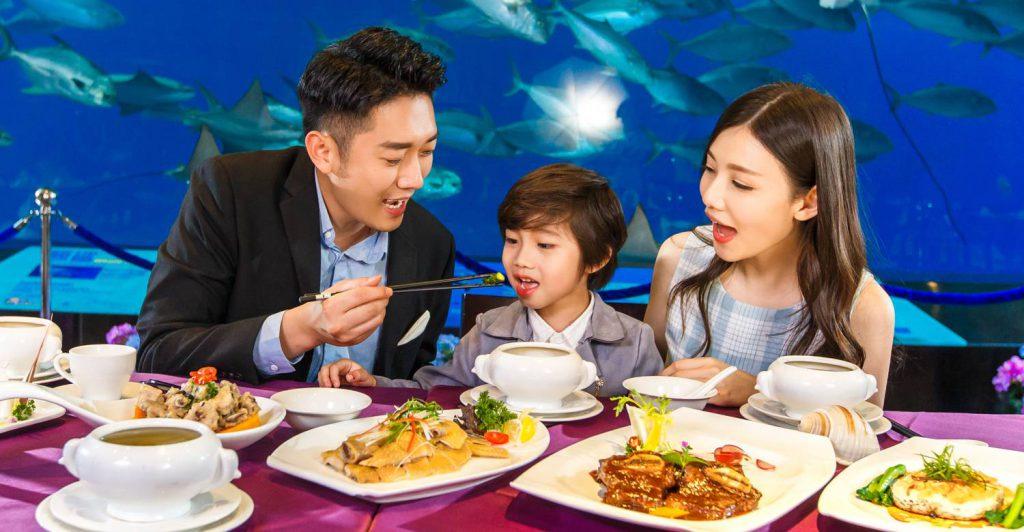 珠海长隆海洋王国美食攻略