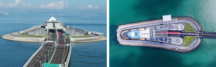 港珠澳大桥人工岛